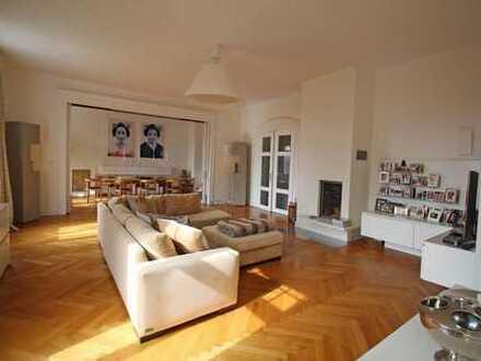 Luxuriöse 6-Zimmer-Jugendstil-Wohnung in einem Baudenkmal