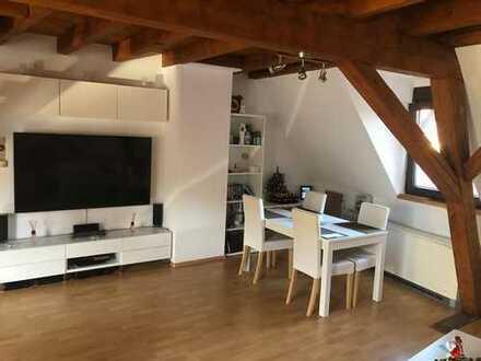 ***Mühlhausen-Tairnbach ab 1.9.2019 DG /Loft 2 Stöckig 2 helle Zimmer mit EBK ***