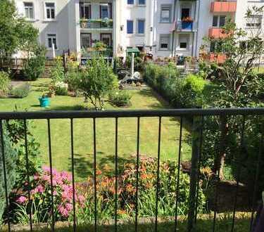 Exklusive, gepflegte 1-Zimmer-Wohnung mit Balkon und EBK in Karlsruhe