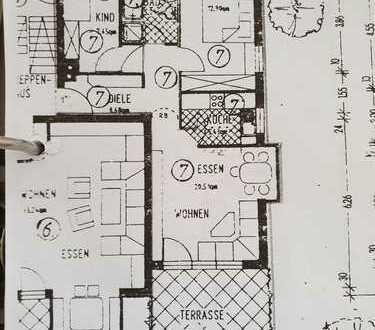 Gemütliche kleine 3-Zimmer-Wohnung, 700 €, 67 m²,