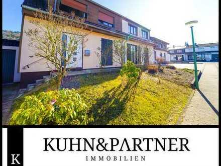 Kirkel - Neuhäusel | Charmante Doppelhaushälfte mit tollem Garten und Garage