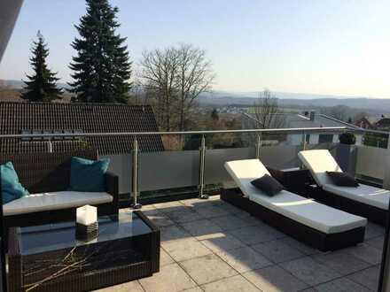Luxeriöse 3-Zimmer-Wohnung mit Blick über Obersdorf-Rödgen