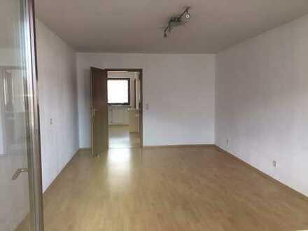 Helle, große 1-Zimmer-Wohnung (teilmöbliert) mit Balkon und EBK in Passau- Innstadt