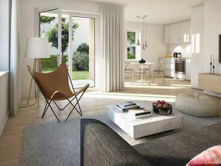 Natürliches Wohn- und Wohlgefühl! 3-Zimmer-Wohnung mit Gartenterrasse im schönen Niederrad