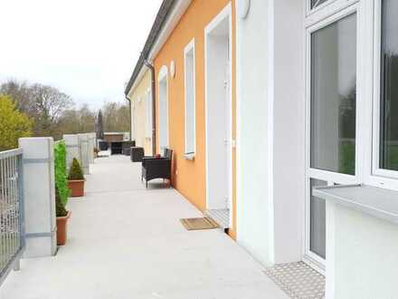 Schöne 3-Zimmer-Hochparterre-Wohnung barrierefrei mit Balkon & Aufzug in Ueckermünde