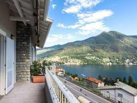 Moltrasio, Comer See - Schöne 2-Zimmer-Wohnung mit Seeblick