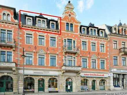 Blasewitz - wertige 4-Zi.-Wohnung mit West-Loggia (neue EBK muss übernommen werden)