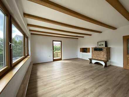 Großzügige 4-Zimmer-Wohnung mit Garten - Eigenheim-Feeling pur, an der Grenze zur Schweiz