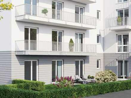 WE0.1 EG Wohnung mit 2 Terrassen u. kleinem Garten