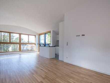 Architekten DG-Wohnung, mit Schreinerküche und Eichenparkett