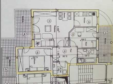 900 €, 88 m², 3 Zimmer