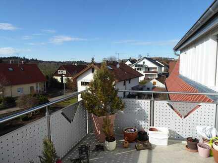 Gepflegte 4,5-Zimmer-Wohnung mit Balkon und EBK in Abtsgmünd/Pommertsweiler
