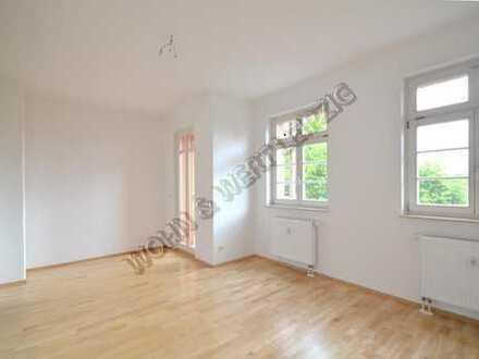*wohnwert-leipzig.de* tolle 2-Zi-Whg am Abtnaund. Park/Balkon/Tageslichtbd/Parkett/ges. 426 EUR