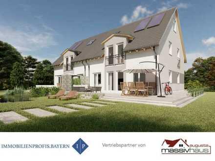 Ihr Nachbar wartet! Neubau Gablingen: Exkl. DHH inkl. Keller & Dachstudio - In 15Min. nach Augsburg