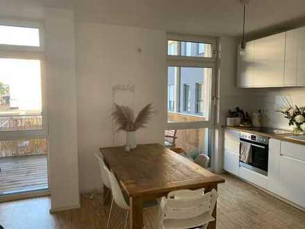 Exklusive, neuwertige 2-Zimmer-Wohnung mit Balkon in Darmstadt