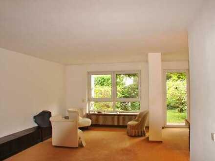 Großzügig geschnittene Maisonette-Wohnung mit Garten