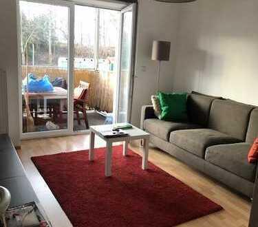 *AB 15.03. FREI* Gemütliche 2 ZKB Wohnung nahe der Wertach, incl. EBK und Balkon;