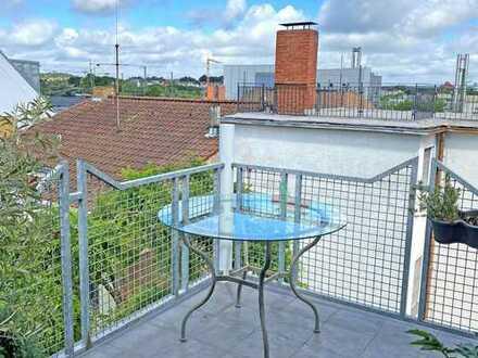 POCHERT IMMOBILIEN - Moderne, sehr schöne Maisonette-Wohnung mit Sonnenbalkon in KL-Pfaffenberg