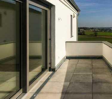Exkl. Neubau zum Erstbezug - 4-Zimmer, 2 Bäder, Balkon mit Weitblick