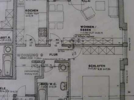 2-Zimmer-Wohnung im 1. Obergeschosswohnung mit Balkon in Rippershausen