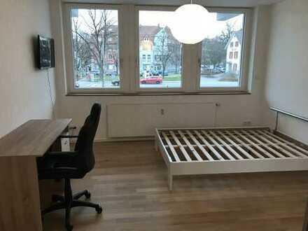 Möbliertes WG-Zimmer - Erstbezug nach Komplettsanierung - Zentrale Lage von Konstanz