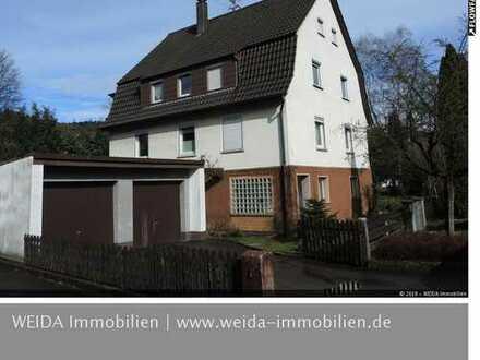 SOFORT FREI! 2-3 Familien-Wohnhaus mit Doppelgarage - für den Handwerker/Selbstausbauer- in Sulzbach