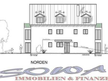 Neubau! 4 Zimmerwohnung im Erdgeschoss mit Terrasse und Garten in Ingolstadt - Gerolfing - Ein Ob...