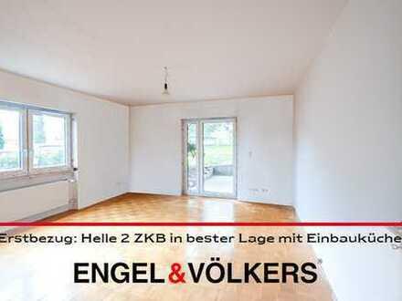 Erstbezug nach Sanierung: Helle 2 ZKB in bester Lage mit Einbauküche!