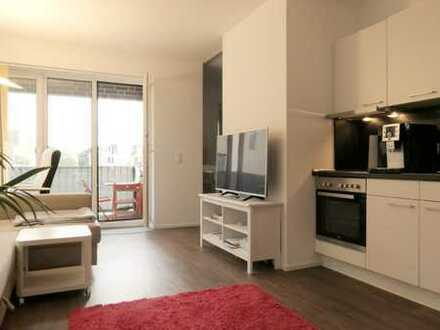 Urbanes Wohnen in der Hafenstadt - Moderne 2 Zimmer mit Einbauküche