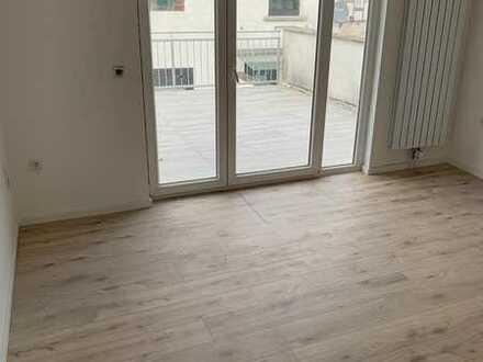 Erstbezug nach Sanierung: schöne 3-Zimmer-Wohnung mit Balkon in Groß-Bieberau