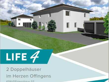 Provisionsfrei! Vier moderne und hochwertig ausgestattete Doppelhaushälften