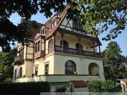 Erste Adresse für Ihr Büro ! Exklusive Villenetage mit Panoramablick über die Elbschlösser!