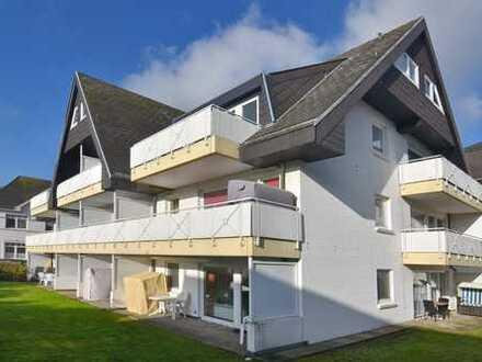 Erstklassig renovierte 1-Zimmer-Wohnung mit Ostbalkon, Garage und Kellerraum
