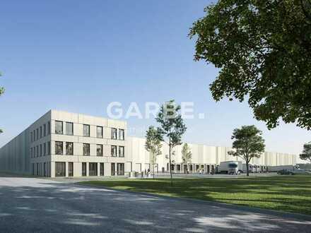 Direkt vom Eigentümer: Ab 4,70 €/m², ca. 7.600 m² Hallenfläche, 10,5 m UKB, 6 Rampentore