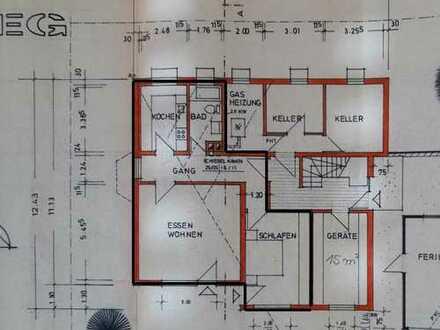 Gepflegte 2-Zimmer-EG-Wohnung mit Einbauküche in Lauchheim