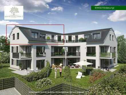 Neubau-3-Zimmer-Dachgeschoß-Wohnung mit großer Terrasse und Aufzug