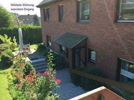 Möblierte 2-Zimmer-Whg mit Terrasse für Einzelperson
