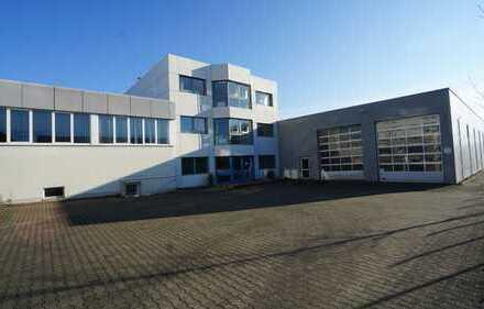 Produktionshallen mit repräsentativem Bürokomplex im Kreis Herford zu verkaufen
