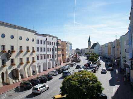... Wohnen in der Altstadt Mühldorf - mit Lichthof und Gartenanteil - zentral und schön Wohnen ...