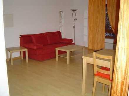 Stilvolle 1-Zimmer-Wohnung mit großem Balkon und Einbauküche in Nußloch
