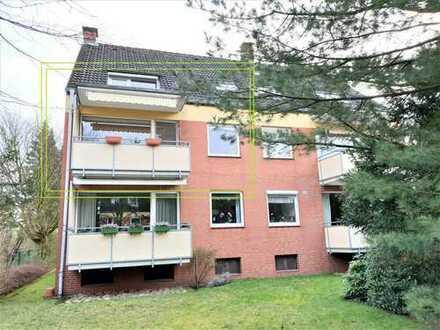 Frei verfügbare , helle 3 Zimmer Wohnung mit Südwestbalkon, Stellplatz und Gäste-WC in guter Lage