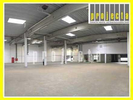 * PROVISIONSFREI * 1.250 m² HALLE * 270 m² BÜRO * 8,5 m UKB * 4 TORE *