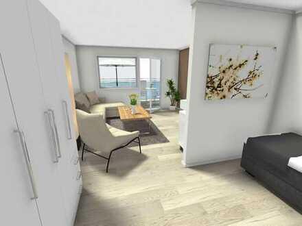 Top-sanierte 1-Zimmer-Wohnung für Singles
