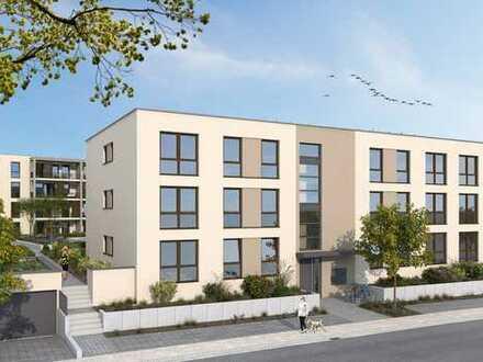 Neu: schöne 4-Zimmer-Wohnung in Kenzingen - Wohnanlage mit Wassergarten
