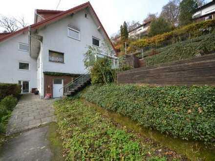 Doppelhaushälfte mit ELW und ca. 730m² Grundstück in Schriesheim....