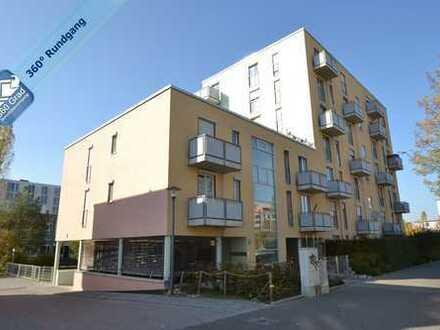 Helle, sehr gepflegte 3-Zimmer-Dachgeschoss-Wohnung mit 2 Balkonen in Milbertshofen- Am Hart