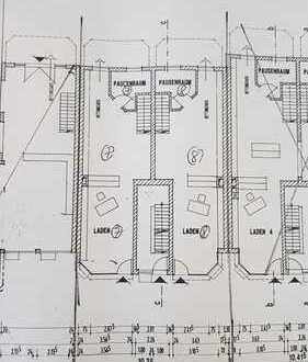 Beuel-Süd: 2 Ladenlokale (2 x 62 m²) + Nutzfläche Keller (direkter Zugang) + inkl. 2 TG-Stellplätze