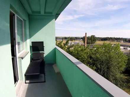 Schöne 1-Zimmer-DG-Wohnung mit Balkon in Prenzlau