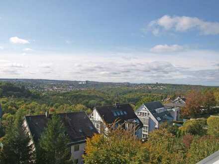 Rarität! 5-Zimmer-Penthouse-Komfort-Wohnung in Toplage mit Panoramablick in Stuttgart-Sonnenberg