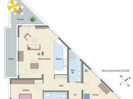 Wohnung mit Betreuungsservice an der Neckarpromenade